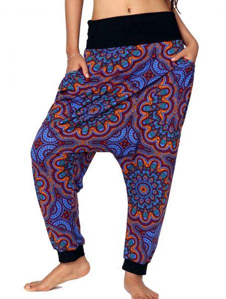 Pantalones Hippies Harem - Pantalon hippie estampado mandalas [PASN05] para comprar al por mayor o detalle  en la categoría de Ropa Hippie Alternativa para Mujer.