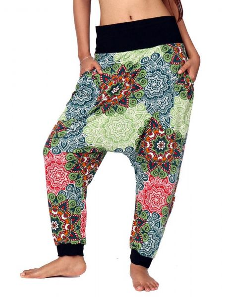 Pantalon hippie estampado mandalas [PASN06] para Comprar al mayor o detalle