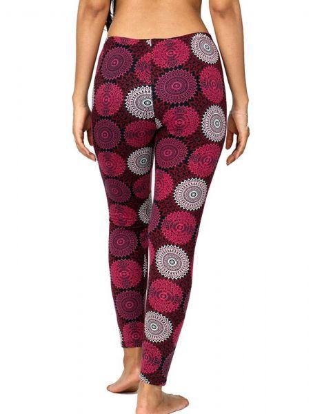 Pantalón hippie tipo leggins con estampado mandalas. comp: Comprar - Venta Mayorista y detalle