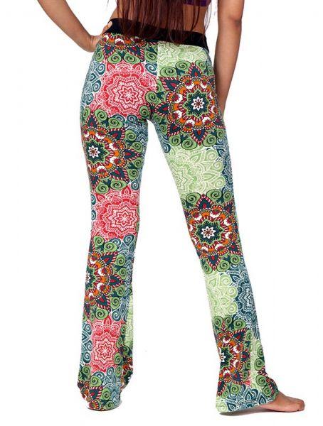Pantalón de pata amplia hippie con estampado mandalas. comp: Comprar - Venta Mayorista y detalle