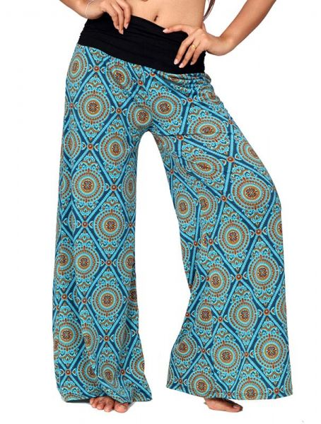 Pantalones Hippies Harem - Pantalón amplio hippie PASN11.