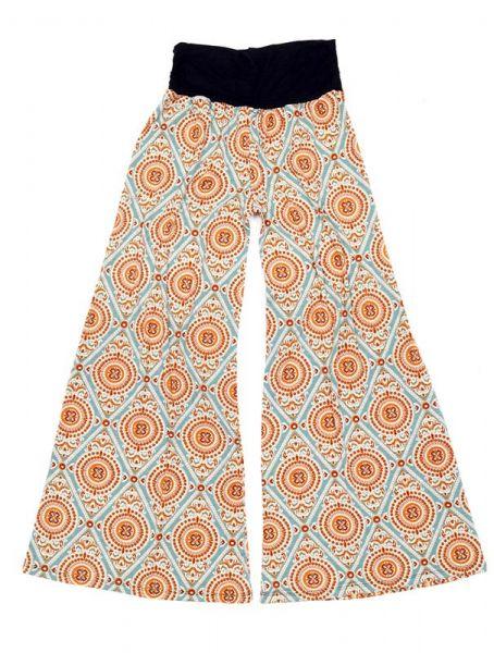 Pantalones Hippies Harem - Pantalón amplio hippie PASN11 - Modelo Beige