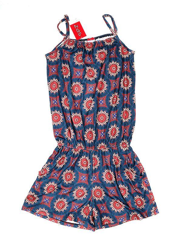 Pantalones Hippies Harem Boho - Mono corto estampado Mandalas [PASN14] para comprar al por mayor o detalle  en la categoría de Ropa Hippie Alternativa Chicas.
