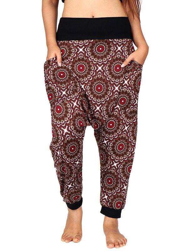 Pantalones Hippies Harem Boho - Pantalon hippie estampado mandalas [PASN21] para comprar al por mayor o detalle  en la categoría de Ropa Hippie Alternativa Chicas.