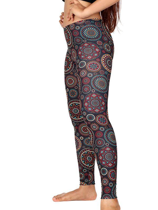 Pantalon leggins hippie estampado mandalas - Detalle Comprar al mayor o detalle