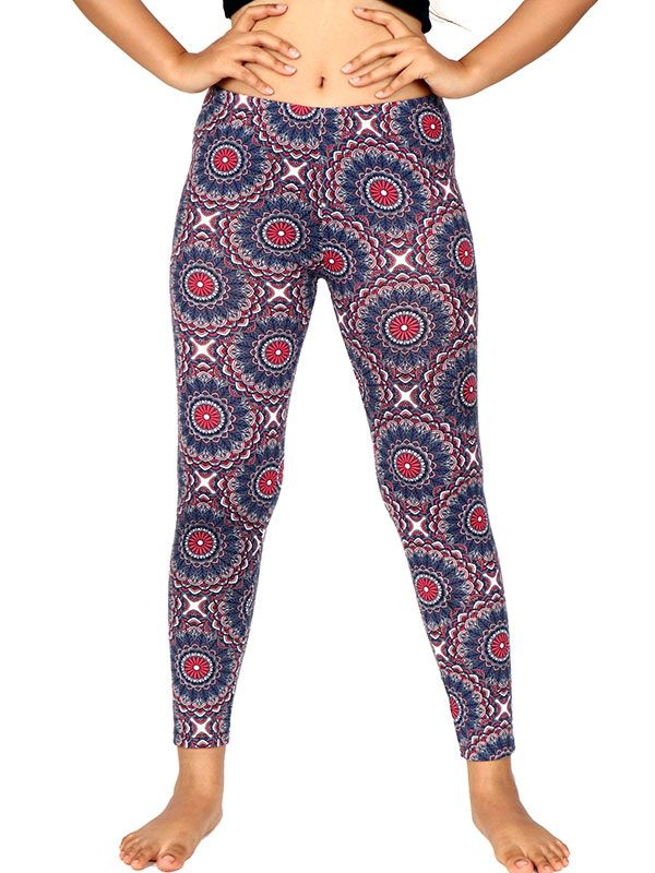Pantalon leggins hippie estampado mandalas [PASN24] para Comprar al mayor o detalle