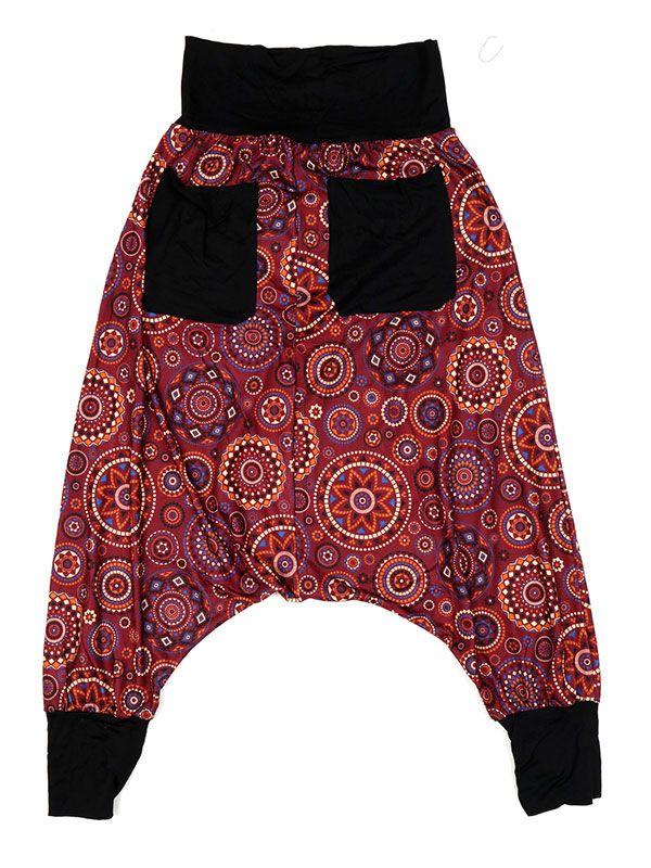 Pantalones Hippies Harem - Pantalon hippie estampado mandalas grandes [PASN29] para comprar al por mayor o detalle  en la categoría de Ropa Hippie Alternativa para Mujer.
