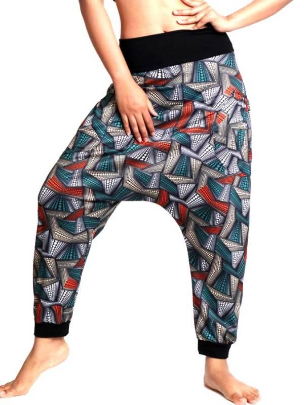 Pantalon hippie estampado Etnico [PASN31] para comprar al por Mayor o Detalle en la categoría de Pantalones Hippies Harem Yoga