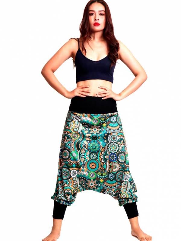Pantalon hippie estampado Etnico - Detalle Comprar al mayor o detalle