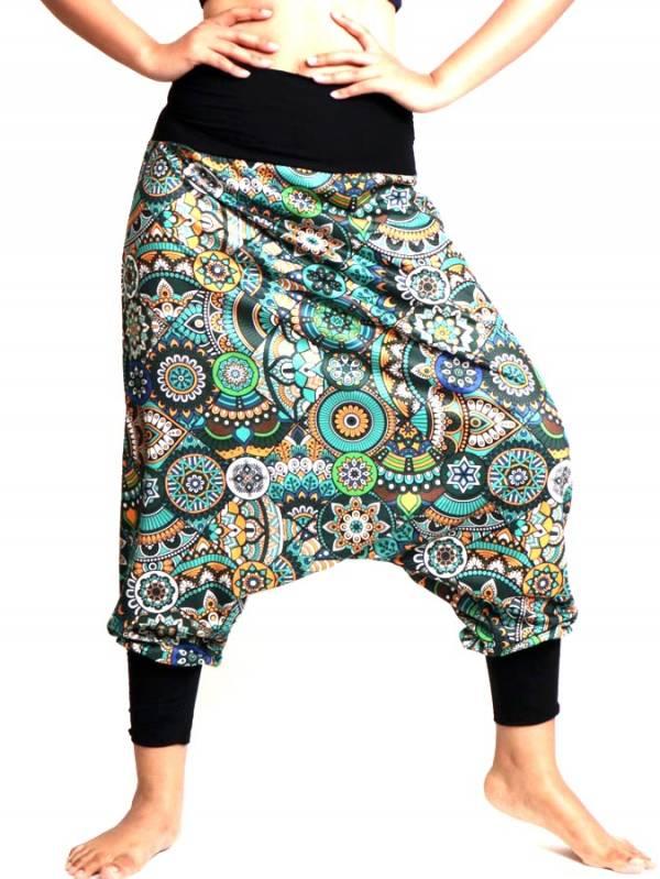 Pantalon hippie estampado Etnico [PASN38] para comprar al por Mayor o Detalle en la categoría de Pantalones Hippies Harem Yoga