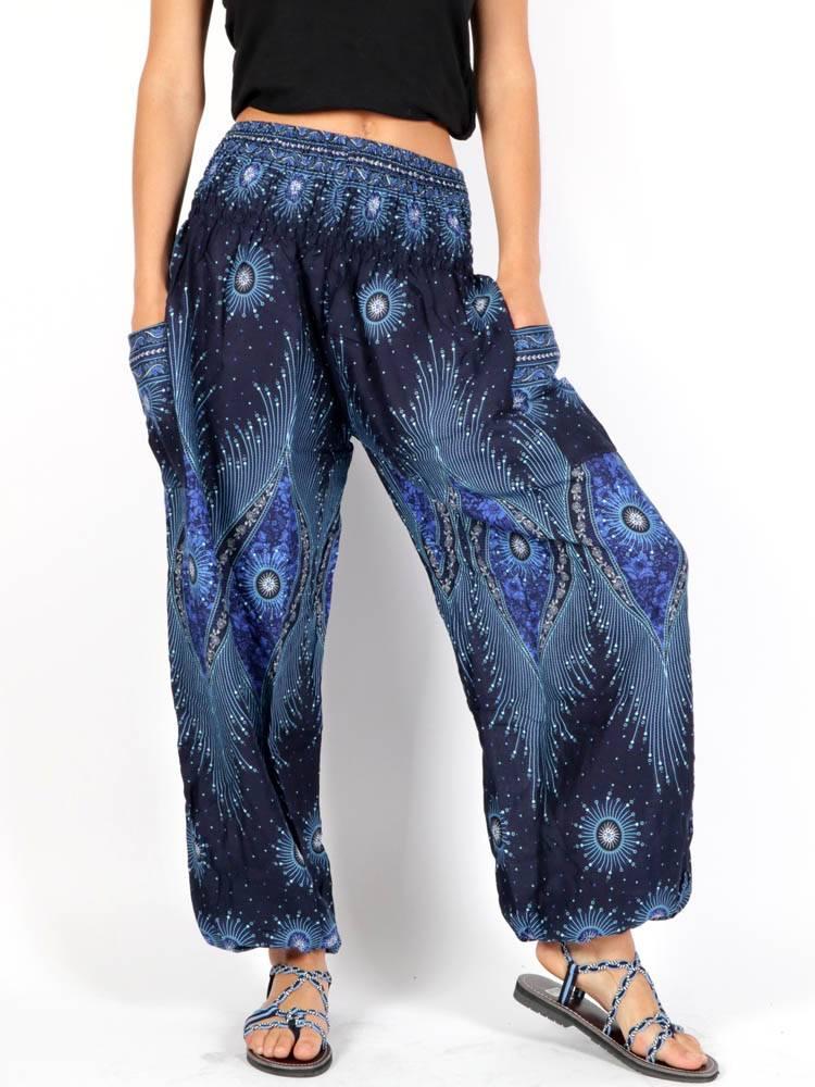 Pantalon Harem Hippie Etnico [PAVA01] para comprar al por Mayor o Detalle en la categoría de Pantalones Hippies Harem Yoga