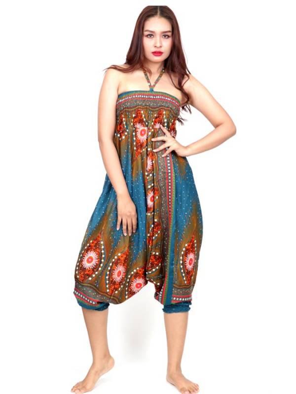 Pantalón Aladin estampado Etnico - Detalle Comprar al mayor o detalle