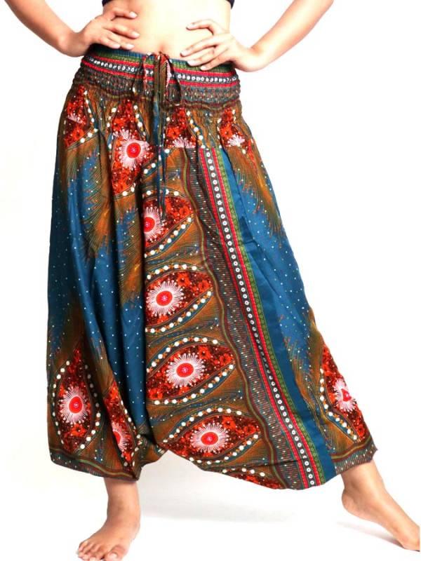 Pantalón Aladin estampado Etnico [PAVA04] para comprar al por Mayor o Detalle en la categoría de Pantalones Hippies Harem Yoga