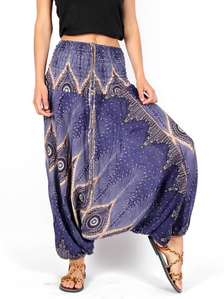 Pantalón Aladin estampado Etnico [PAVA06] para comprar al por Mayor o Detalle en la categoría de Pantalones Hippies Harem Yoga