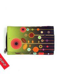 Cartera billetera estampado retro BIUP01 para comprar al por mayor o detalle  en la categoría de Ropa Hippie Alternativa para Mujer.