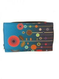 Retro print wallet wallet BIUP01 to buy wholesale or detail in the Alternative Ethnic Hippie Outlet category.