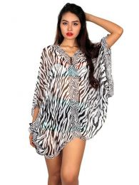 Transparency Beach Blouse Wild. Hippie Clothing Outlet to buy wholesale or detail in the Alternative Ethnic Hippie Outlet category | ZAS Hippie Store. [BLAR03]
