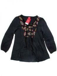 Blusa Hippie bordada BLEV05 para comprar al por mayor o detalle  en la categoría de Outlet Hippie Etnico Alternativo | ZAS Tienda Hippie.