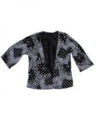 Blusaétnica estamnpada Mod Negro