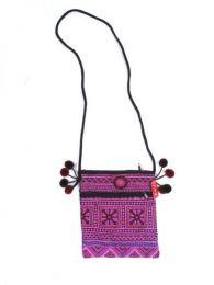 Bolsos y Mochilas Hippies - Bolso pasarportera tribal, BOCH15.