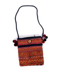 Bolsos y Mochilas Hippies - Bolso pasarportera tribal, BOCH15 - Modelo M1