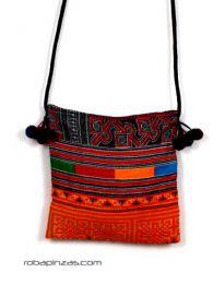 Outlet de Bolsos y Otros artículos hippies - Bolsito de algodón de tejidos étnicos [BOCH7] para comprar al por mayor o detalle  en la categoría de Outlet Hippie Étnico Alternativo.