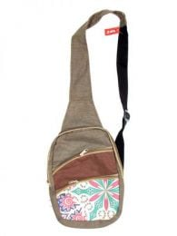 Multi-zip shoulder bag printed BOCT02 to buy wholesale or detail in the category of Hippie Clothing for Women.