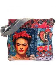 Frida Kahlo Printed Large Bag. BOCT04 to buy wholesale or detail in the category of Alternative Hippie Accessories.