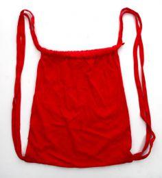 Mochila de algodón Mod Rojo