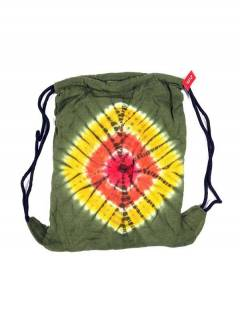 Tie Dye Knit Backpack. BOHC11 to buy wholesale or detail in the Bohemian Hippie Fashion Accessories category | ZAS.