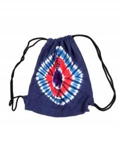 Hippies Taschen und Rucksäcke - Gestrickter Tye Dye Rucksack von BOHC11.