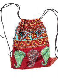 Mochila Hippie sencilla material Mod 182
