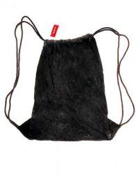 Mochila de algodón Mod Negro
