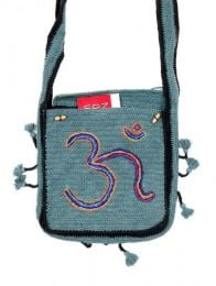 Om Crochet Hippie Bag, to buy wholesale or detail in the Bohemian Hippie Fashion Accessories category | ZAS. [BOHC27]