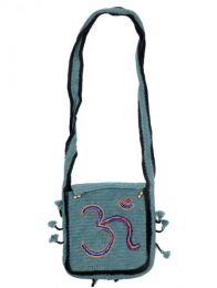 Om Crochet Hippie Bag to buy wholesale or detail in the Bohemian Hippie Fashion Accessories category | ZAS [BOHC27].