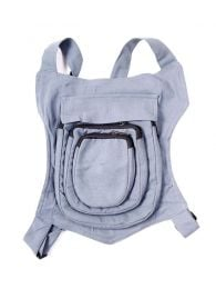 BOHC28 Multipocket Hippie Backpack to buy in bulk or in detail in the Alternative Hippie Accessories category.