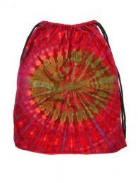 Bolso sencillo estampado tie Mod Rojo 18