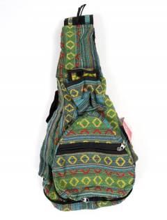 Mochila plegable de rayas multicolores,  para comprar al por mayor o detalle  en la categoría de Complementos y Accesorios Hippies  Alternativos  | ZAS. [BOKA07]