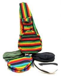 Hippies Bags and Backpacks - Striped folding backpack BOKA07.