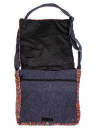 Bolso de piel de seda reciclada detalle del producto