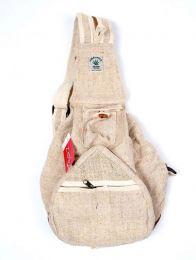 Bolsos y Mochilas Hippies - Mochila fabricada con Cáñamo BOKA14 - Modelo M06