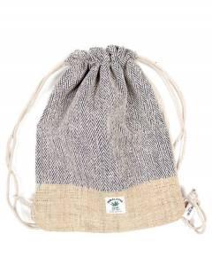 Mochilas de cânhamo e bolsas de cintura - Mochila de cânhamo simples [BOKA18] para comprar no atacado ou no varejo na categoria de acessórios hippies alternativos.