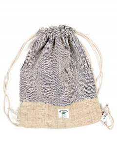 Simple hemp backpack BOKA18 to buy wholesale or detail in the category of Hippie Clothing for Women.