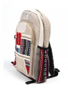 BOKA20 Large Hemp Backpack to buy wholesale or detail in the Alternative Hippies Accessories category.