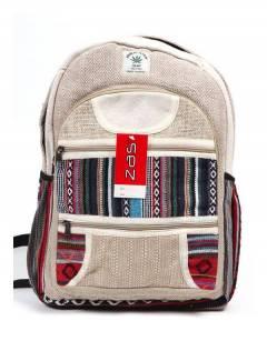 BOKA20 Large Hemp Backpack à acheter en gros ou en détail dans la catégorie Accessoires de mode Bohemian Hippie | ZAS.