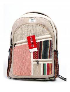Mochilas de cânhamo e bolsas de cintura - Mochila de cânhamo grande [BOKA20] para comprar no atacado ou no varejo na categoria de acessórios hippie alternativos.