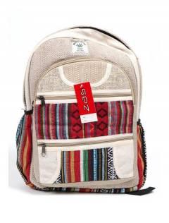 BOKA20 Zaino grande in canapa da acquistare all'ingrosso o dettaglio nella categoria Accessori moda hippy bohémien | ZAS.