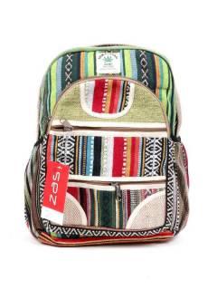 Pequena mochila de cânhamo para comprar no atacado ou detalhe na categoria Bohemian Hippie Fashion Accessories | ZAS [BOKA21].