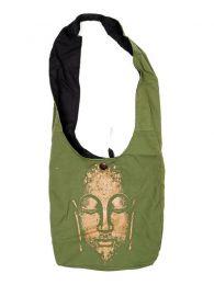 Bolsos y Mochilas Hippies - Bolso Hippie tipo baba bandolera BOKA22-B - Modelo Verde