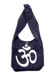Hippies Bags and Backpacks - Large Om shoulder bag [BOKA22-O] to buy in bulk or in detail in the category of Alternative Hippie Accessories.